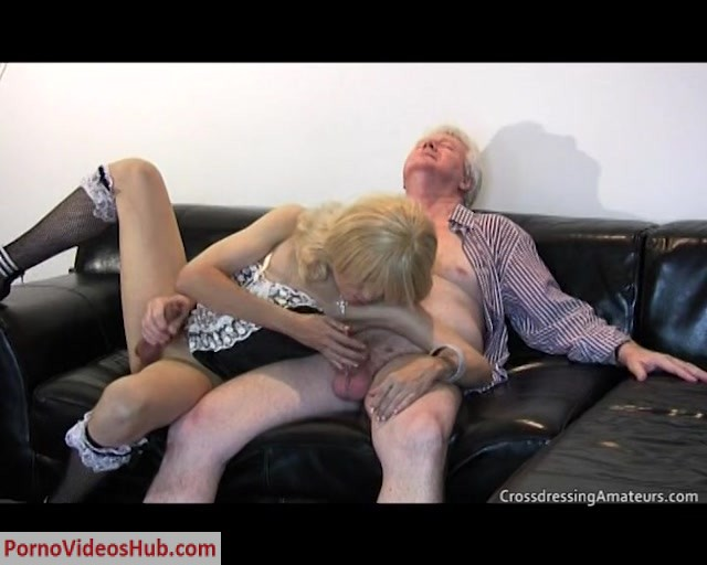 Watch Online Porn – CrossdressingAmateurs presents Sissy for Grandad (MP4, SD, 720×576)