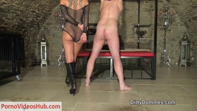 Watch Online Porn – Dirty Dommes – Destroyed boots and balls part 1. Starring Miss Nomi (MP4, HD, 1280×720)
