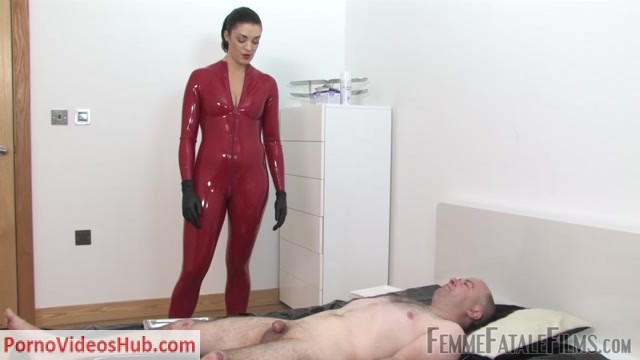 Watch Online Porn – Femme Fatale Films – Latex Smother  CBT Surprise – Complete Film. Starring The Hunteress (MP4, FullHD, 1920×1080)
