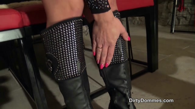 Watch Online Porn – Dirty Dommes – Destroyed boots and balls part 2. Starring Nomi Melone (MP4, HD, 1280×720)
