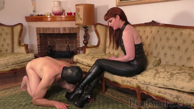 Watch Online Porn – Femme Fatale Films – Boot Worship Day – Part 2. Starring Miss Zoe boot domination boot sniffing boot worship boots humiliation leather ankle boots k2s.cc (MP4, HD, 1280×720)