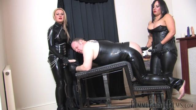 Watch Online Porn – Femme Fatale Films – Dirty Fuck Slut Slave. Starring Mistress Athena and Mistress R'eal (MP4, HD, 1280×720)