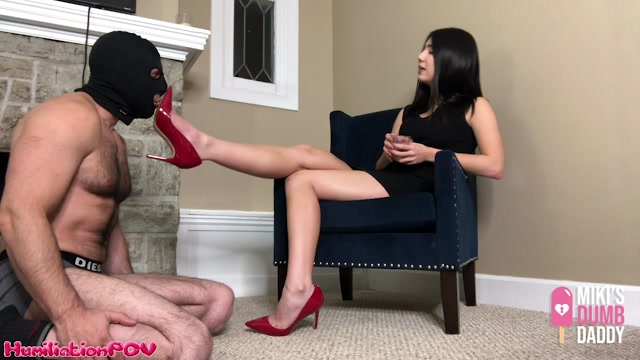 Watch Online Porn – Humiliation POV – Shoe Pig Licks The Heels That He Paid For. Starring Princess Miki (MP4, HD, 1280×720)