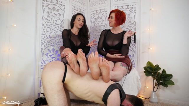 Watch Online Porn – Stella Liberty – Human Footstool for Mistresses (MP4, FullHD, 1920×1080)