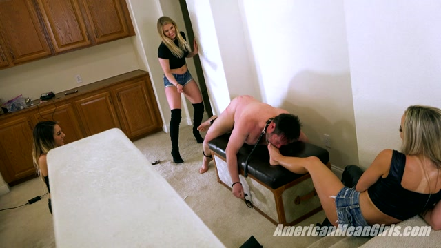 Watch Online Porn – THE MEAN GIRLS – Caning Chore Chart – Episode 10: Spoiled Princess Amber. Starring Goddess Platinum and Princess Amber (MP4, FullHD, 1920×1080)