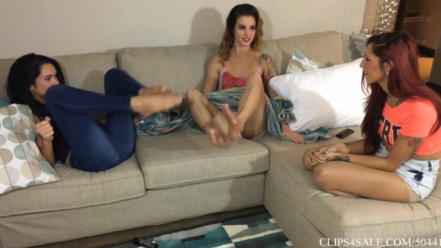 Watch Online Porn – Bratty Babes Own You – Sorority Hazing Footjob With Stephania – Maria Marley and Sunshine (WMV, FullHD, 1920×1080)