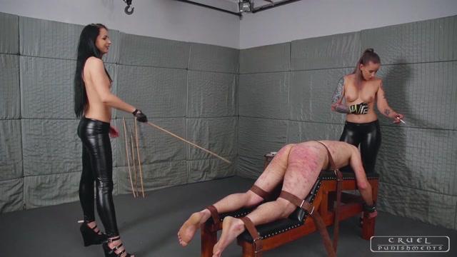 Watch Online Porn – CRUEL PUNISHMENTS – SEVERE FEMDOM – Crazy brutal punishments Full Version. Starring Mistress Kittina and Mistress Anette (MP4, FullHD, 1920×1080)