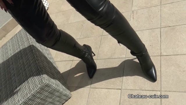 Watch Online Porn – Clean My leather chap boots (MP4, HD, 1280×720)
