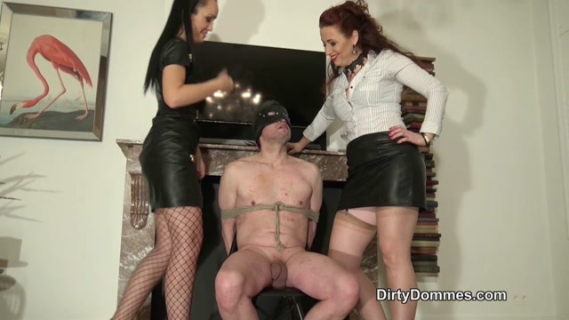 Watch Online Porn – DirtyDommes – Bound and Face Slapped – Mistress Lady Renee, Fetish Liza (MP4, HD, 1280×720)
