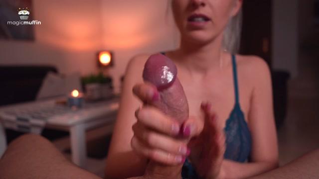 Watch Online Porn – Hot Girlfriend Handjob with Nice Cumshot – TheMagicMuffin (MP4, UltraHD/4K, 3840×2160)
