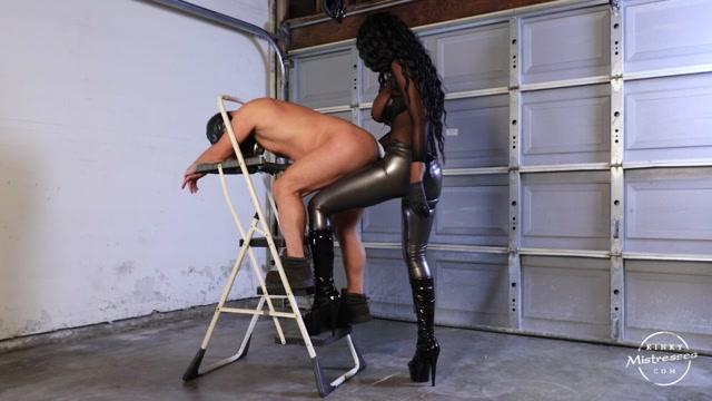 Watch Online Porn – Kinky Mistresses – Fucked In The Garage. Starring Mistress Adina (MP4, HD, 1280×720)
