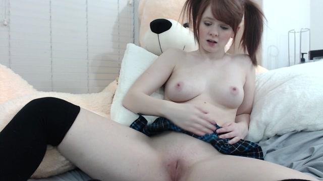Watch Online Porn – ManyVids presents fiery_redhead Fiery Redhead – schoolgirl w redhead pigtails cums using her fingers (MP4, FullHD, 1920×1080)