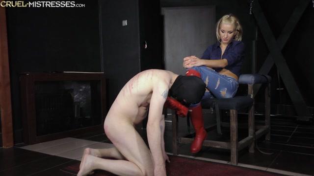 Watch Online Porn – CRUEL MISTRESSES – Red rubber boots licking. Starring Mistress Ariel (MP4, FullHD, 1920×1080)