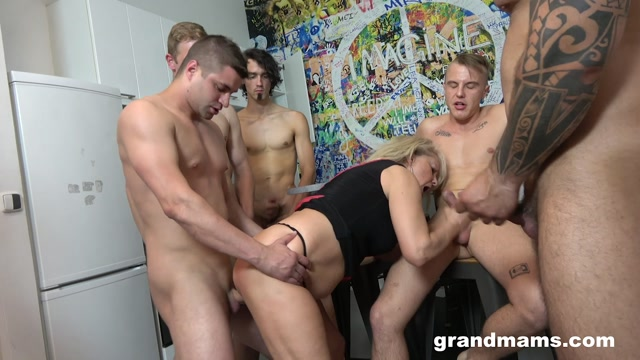Watch Online Porn – Grandmams presents Old Teacher By Day Bukkake Queen At Night (MP4, FullHD, 1920×1080)