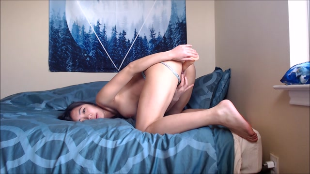 Watch Online Porn – ManyVids presents Ashley Aoki – Dildo Fucking in Panties (MP4, FullHD, 1920×1080)