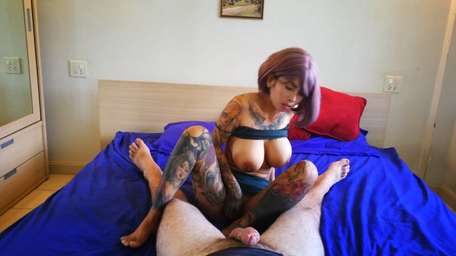 Watch Online Porn – ManyVids presents InkedMonster – Asian Babe POV Riding and Creampie (MP4, FullHD, 1920×1080)