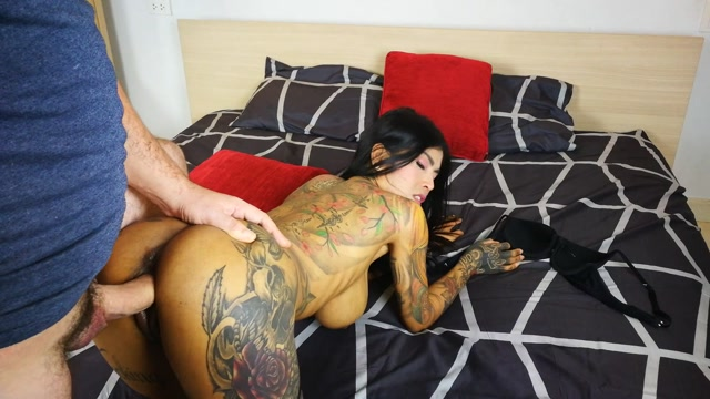 Watch Online Porn – ManyVids presents InkedMonster – Huge Tit Asian Sucking and Fucking (MP4, FullHD, 1920×1080)