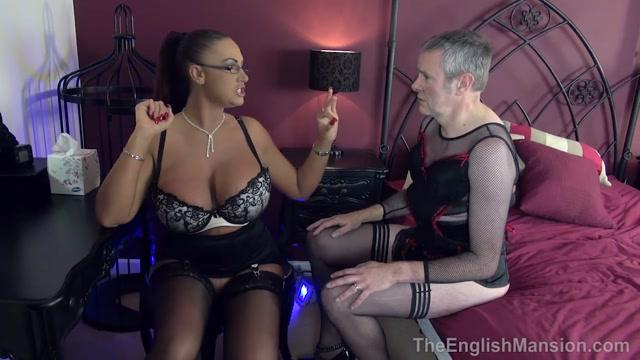 Watch Online Porn – The English Mansion – Fluffer Cuckold Husband – Part 1. Starring Mistress Pandora (MP4, HD, 1280×720)