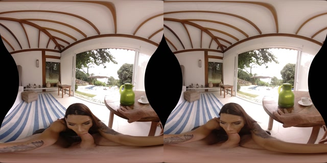 Watch Online Porn – TranzVR presents Marcelle Herrera in Cream and Sugar (MP4, UltraHD/2K, 3840×1920)