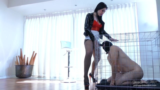 Watch Online Porn – Young Goddess Kim – Caged Cock slut (MP4, FullHD, 1920×1080)
