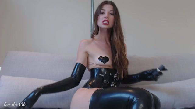 Watch Online Porn – Eva de Vil – Intense Tiny Dick Jerking CEI (MP4, FullHD, 1920×1080)