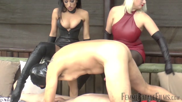 Watch Online Porn – Femme Fatale Films  Filthy Bi Slut Training  Super HD  Part 2. Starring Divine Mistress Heather and Goddess Tangent (MP4, FullHD, 1920×1080)