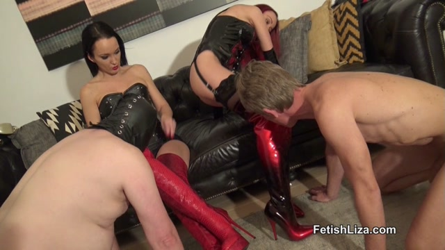 Watch Online Porn – Fetish Liza – Boot fucking slave Part 2 (MP4, HD, 1280×720)