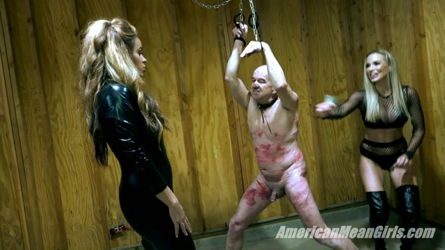 ballbusting old man