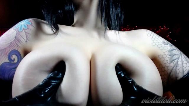 Watch Online Porn – Violet Doll – Black Glove Tit Worship (MP4, HD, 1280×720)
