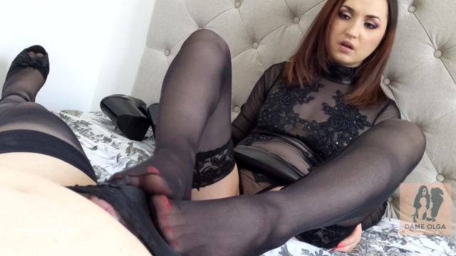 Watch Online Porn – Edging Footjob Vol 5 How Long Can You Last – Dame Olga's Fetish Clips (MP4, FullHD, 1920×1080)