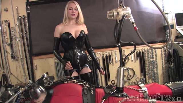 Watch Online Porn – Femme Fatale Films – Drained By The Milking Machine – Super HD – Complete Film. Starring Mistress Eleise de Lacy (MP4, FullHD, 1920×1080)