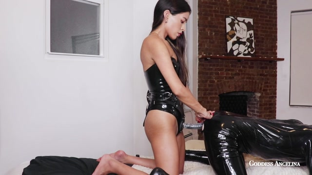 Watch Online Porn – Goddess Angelina – Fucking My Bitch (MP4, HD, 1280×720)