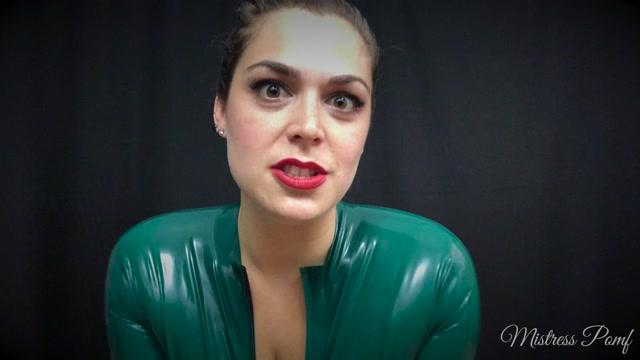 Watch Online Porn – MistressPomf Serve your Pimpstress (MP4, FullHD, 1920×1080)