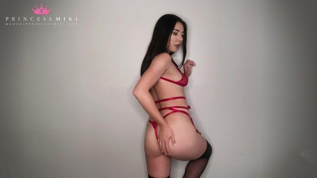 Watch Online Porn – Princess Miki  My Dumb Gooning Slave (MP4, FullHD, 1920×1080)