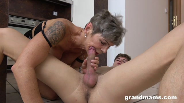 Watch Online Porn – GrandMams presents Young Gigolo Fucks Horny Granny (MP4, FullHD, 1920×1080)