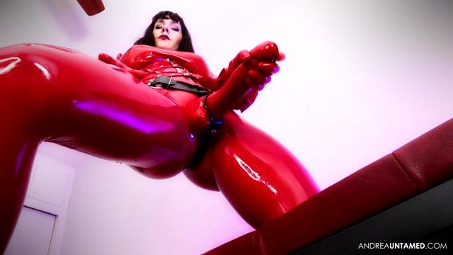 Watch Online Porn – Miss Untamed – Wet Red Rubber (MP4, FullHD, 1920×1080)