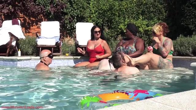 Watch Online Porn – Mistress Ezada Sinn – Femdom games in the pool (MP4, HD, 1280×720)