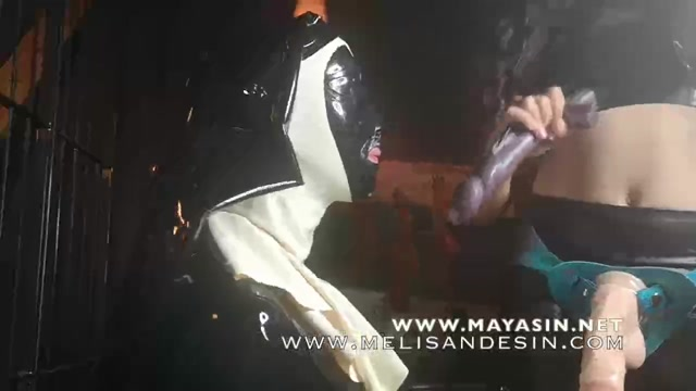 Watch Free Porno Online – Mistress Melisande, Mistress Maya – Strap-On and Rubberdoll – Sodomised By Two Mistresses (MP4, HD, 1280×720)