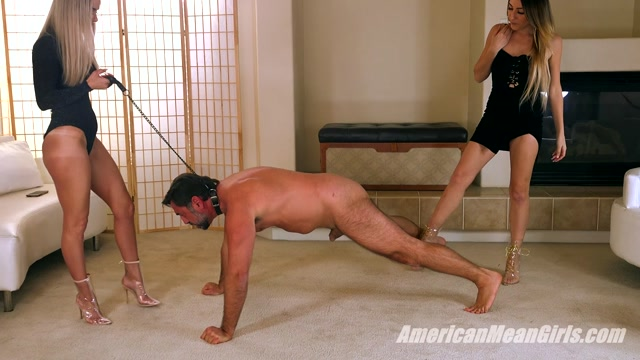 Watch Free Porno Online – The Mean Girls – Princess Skylar Goddess Platinum – Pushup Ballbusting (MP4, FullHD, 1920×1080)