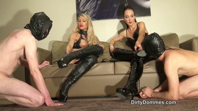 Watch Online Porn – Boot cum competition part 1 (MP4, HD, 1280×720)