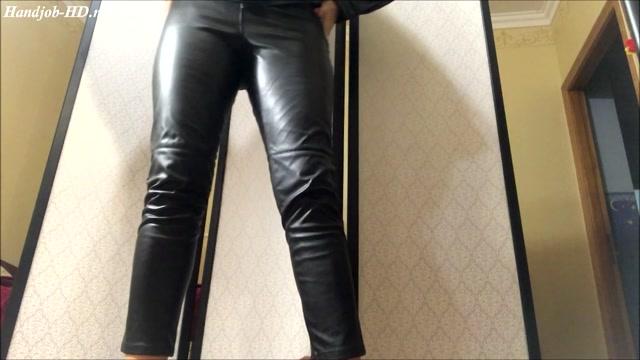 Watch Online Porn – HJ So hot handjobs in leather – HJ Goddess TEASE (MP4, FullHD, 1920×1080)