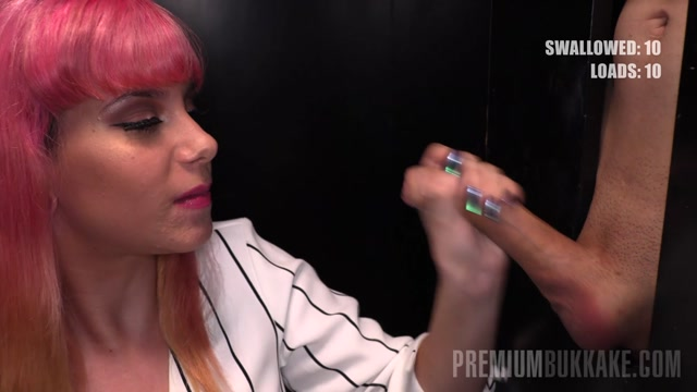 Watch Online Porn – PremiumBukkake presents Pink Charlotte in 19.03.29 gloryhole (MP4, FullHD, 1920×1080)