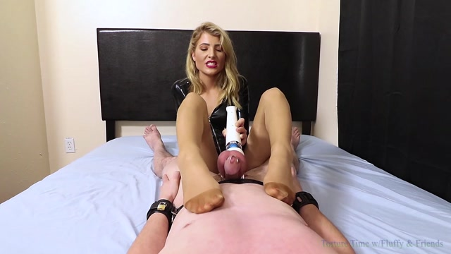 Watch Online Porn – Torture Time with Fluffy  Friends – Explosive Pantyhose Chastity Milking – Featuring Maia Evon (MP4, FullHD, 1920×1080)