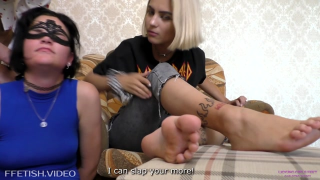 Watch Free Porno Online – LICKING GIRLS FEET – KARINA and NATA – Cruel Couple – Humiliation for slave girl (MP4, FullHD, 1920×1080)