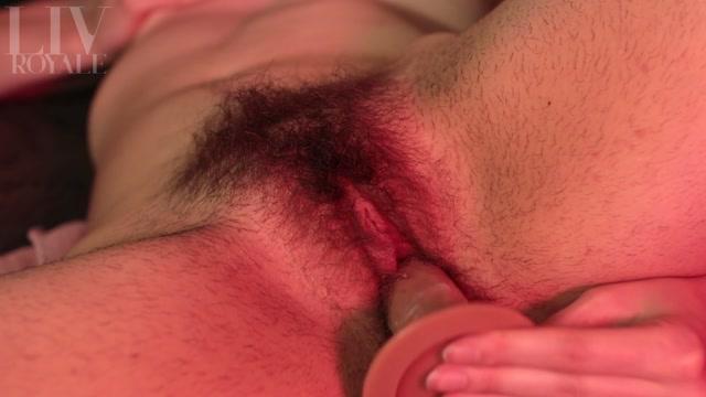 Watch Online Porn – Liv Royale – Hairy, Creamy Dildo Fuck (MP4, FullHD, 1920×1080)