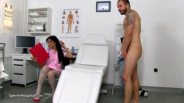 Watch Online Porn – Awesome uniform milf Marta old young hand-job – Sperm Hospital (MP4, HD, 1280×720)