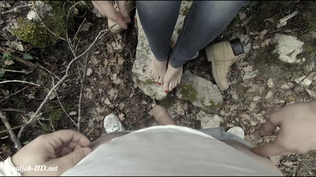 Watch Online Porn – Quarantine Excape, For Have Footjob And Handjob In The Forest – PaoloCum79 (MP4, FullHD, 1920×1080)