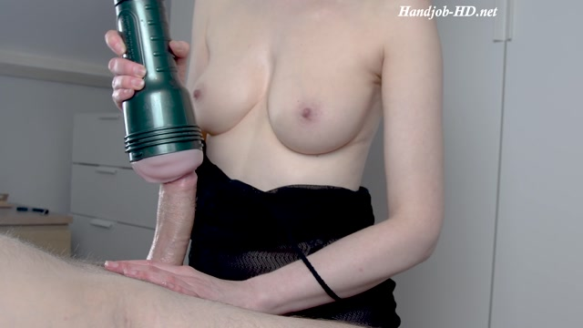 Watch Online Porn – Fleshlight Handjob On Big Cock From Sexy Milf With Perfect Tits – SweetAnnaBella (MP4, FullHD, 1920×1080)