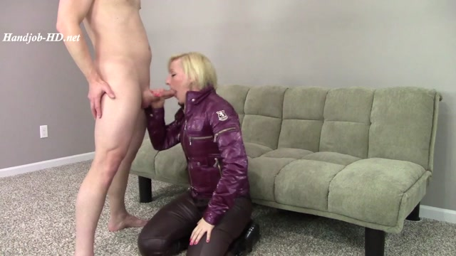 Watch Online Porn – PVC Jacket Wellies Leather Pants BJ Cum – Brittany Lynn (MP4, HD, 1280×720)