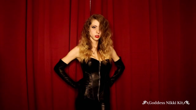 Watch Online Porn – Nikki Kit – Locked in Chastity by a Leather Mistress (MP4, FullHD, 1920×1080)